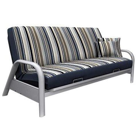 Pattern Futon Cover by Newport Navy Stripe Pattern Futon Cover With