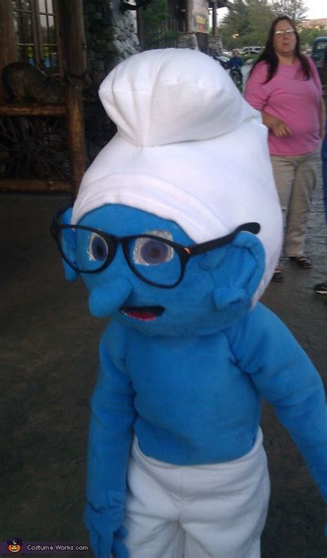 How To Make A Smurf Hat Out Of Paper - brainy smurf costume costumes and smurf costume