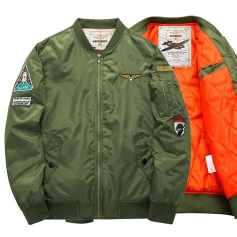 Flight Bomber Jacket Green Army Cewek asstseries 2016 reflective jacket ma1 style army green
