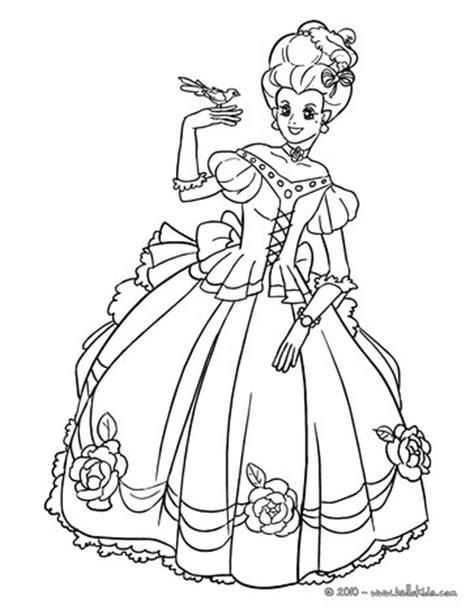 french princess coloring pages hellokids com