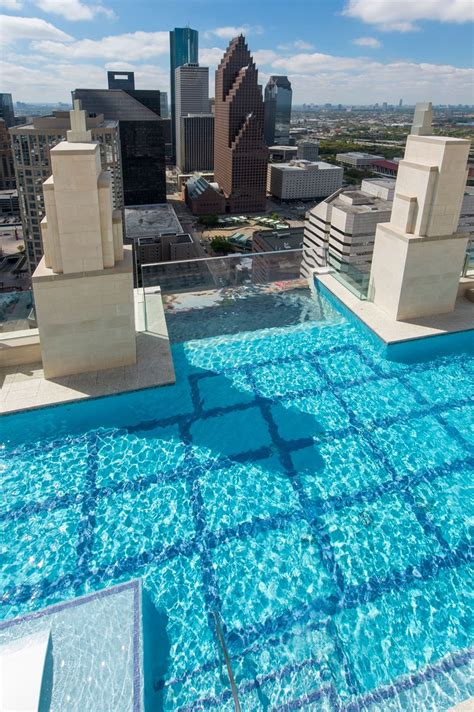 square pools this glass bottomed pool lets you admire the ground 500 ft