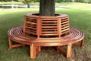 rounded benches tree bench ideas for added outdoor seating