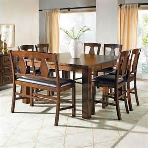 height piece rich: steve silver lakewood  piece counter height dining set by steve