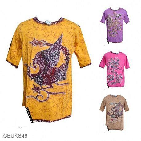 Baju Kaos Casual jual kaos batik murah model kaos batik terbaru batikunik