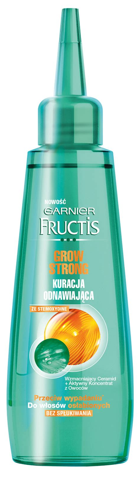 Serum Garnier fructis grow strong hair renew serum beautycosmetic