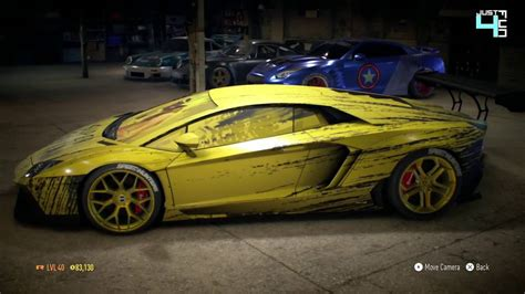 lamborghini custom paint job need for speed 2015 top 5 paint job lamborghini best