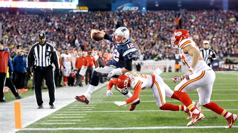 New England Patriots To Host Kansas City Chiefs In N F L