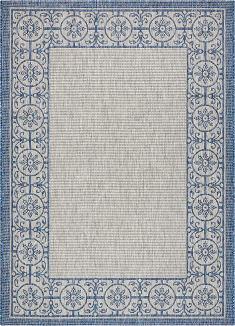 country rugs blue nourison country side ctr03 ivory blue area rug rugs a bound