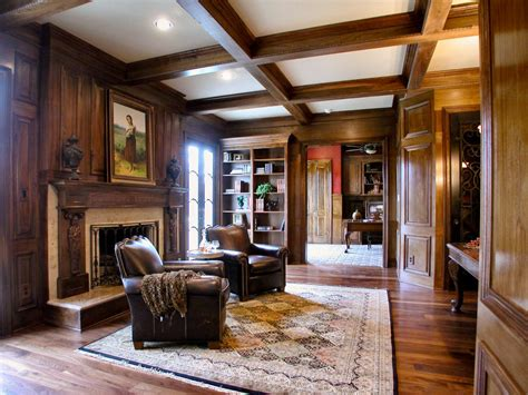 Home Library Design With Fireplace 12 Dreamy Home Libraries Decorating And Design Ideas For