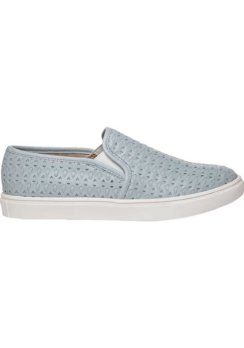 slip on sneakers for lyst steve madden excel slip on sneakers in blue for