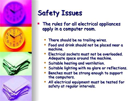health and safety in the computer room health safety presentation