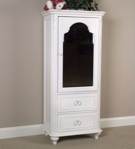 lc reflections mirrored door armoire traditional