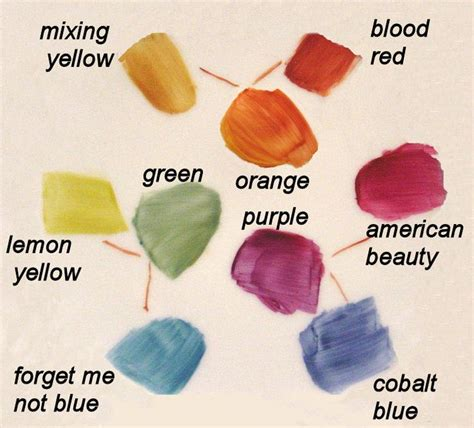 what colors do you mix to make purple 15 best mezcla colors images on color mixing