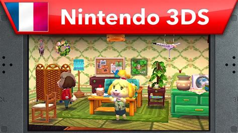happy home designer new furniture animal crossing happy home designer bande annonce e3 2015 nintendo 3ds youtube