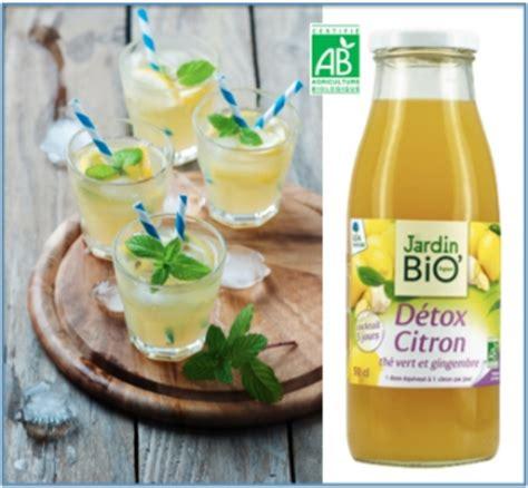 Jus De Citron Vert Detox by Sant 233 Jardin Bio Lance Une Boisson Bio D 233 Tox Citron