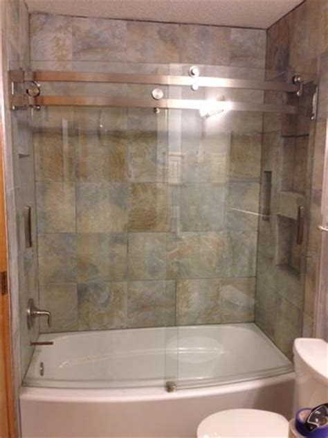 classic shower door delta classic 400 curve 60 in x 62 in frameless sliding