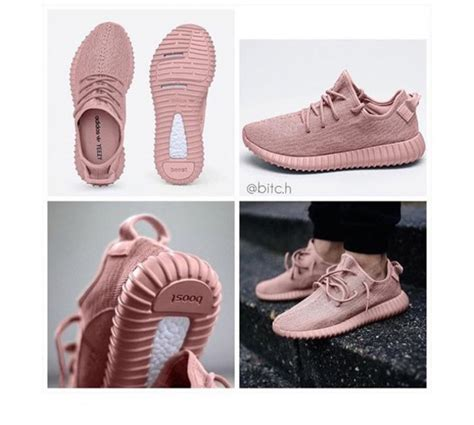 shoes yeezy pink kanye west clothes yeezyboost kanye west dusty pink pink sneakers