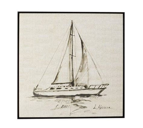 sailboat prints sailboat framed ivory print