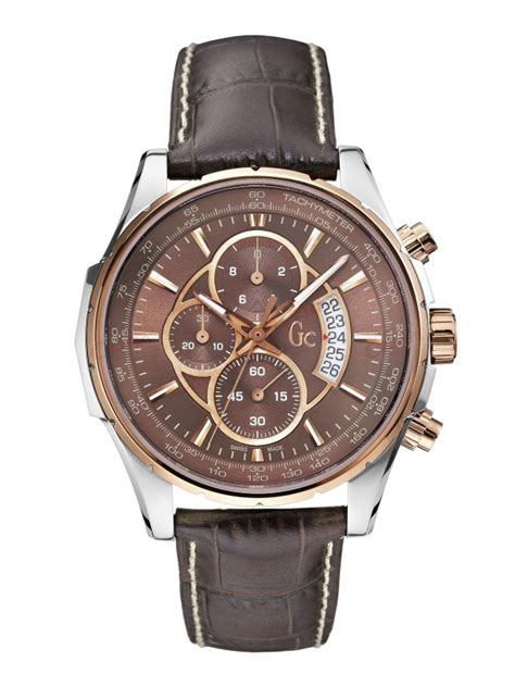 Guess Gc Leather guess collection technoclass rown leather x81002g4s
