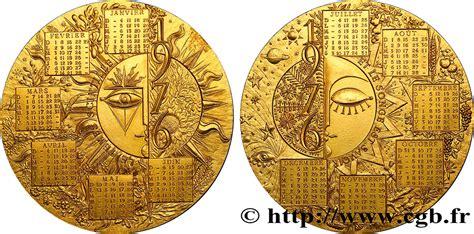 V Calendrier V Republic M 233 Daille De Calendrier Au Fme 401073 Medals