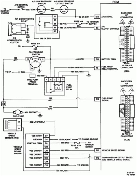 wiring harness diagram for 1995 chevy s10 readingrat net