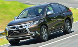 here s a fugly mitsubishi pajero coupe based on the freshly released 2016 pajero sport