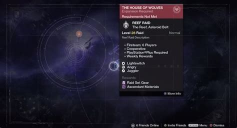 house of wolves expansion destiny bug leaks future raid and expansion content