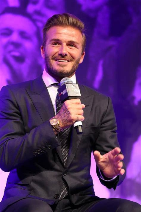 Beckham Became A by David Beckham To Become Sky Sports Pundit
