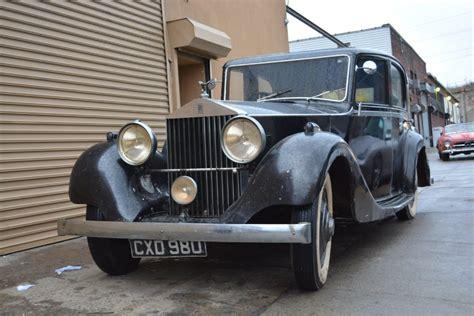 1935 rolls royce 1935 rolls royce 20 25 limousine rhd
