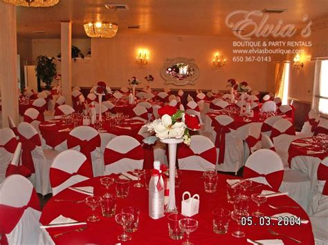 hall decoration ideas halls red eb party rental 187 eb party rental