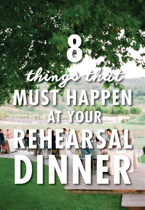 25  best ideas about Rehearsal dinner fun on Pinterest