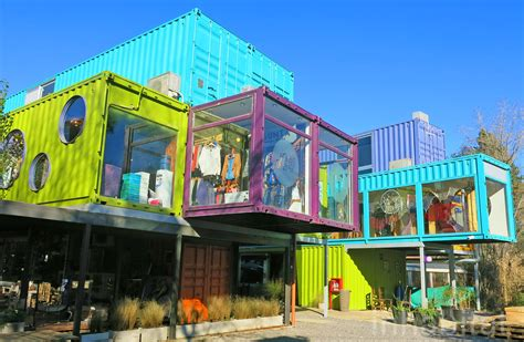 Interior Of Shipping Container Homes by Bright And Bold Quo Shipping Container Mall Springs Up In