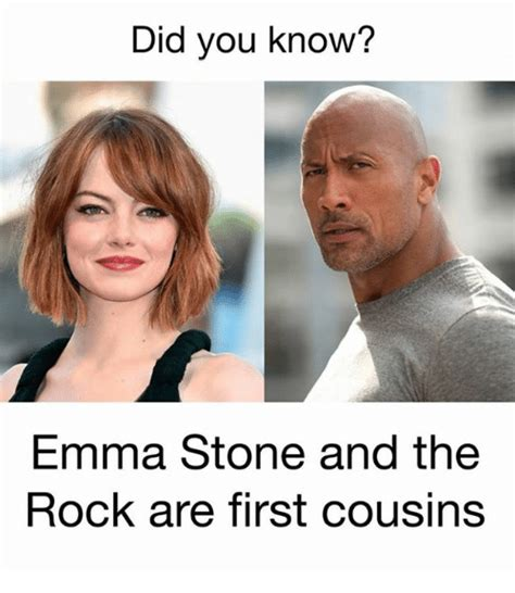 Emma Stone The Rock | 25 best memes about the rock the rock memes