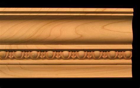 crown molding egg  dart  wood carved