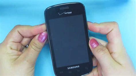 Reset Samsung Verizon   hard reset samsung illusion sch i110 verizon youtube