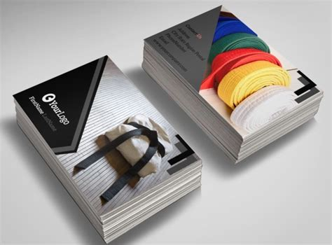 Martial Arts Business Card Templates by Martial Arts Studio Business Card Template