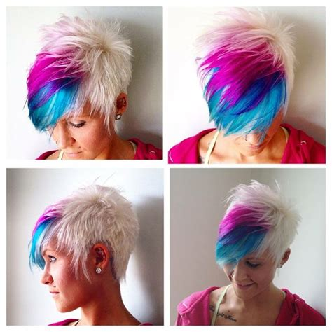 short trendy hairstyles the haircut web colorful short haircuts the haircut web
