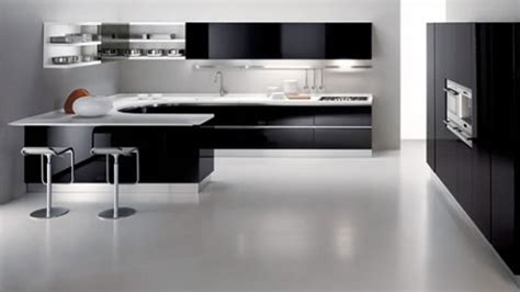 Kitchen Design Black And White by Black And White Kitchen Decobizz Com