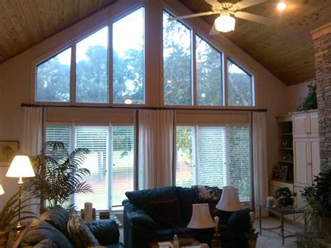 angled window treatments angled window window treatments