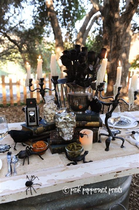 pottery barn buffet decorating ideas pinterest 40 best halloween party for pottery barn images on