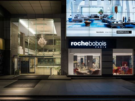 iconic french furniture brand roche bobois opens
