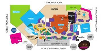 borgata casino floor plan be at