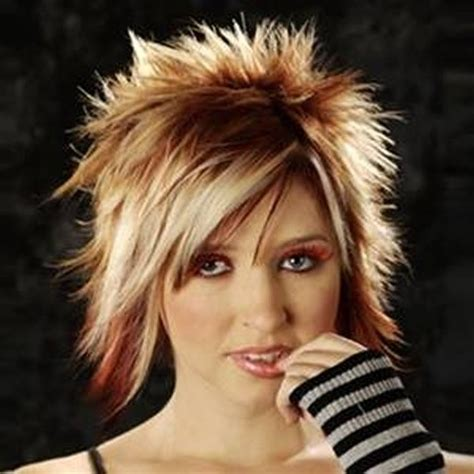 staight in front and spike in back hairstyle trends of short spiky hairstyles for girls 2014 life n