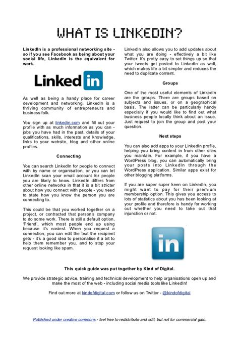 what is in what is linkedin
