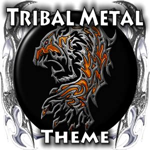 themes for android tribal tribal metal go launcher theme android apps on google play