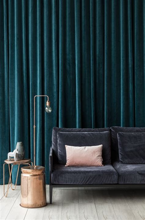 living room velvet curtains with green curtain and green we love our new atelier velvet on this stunning district