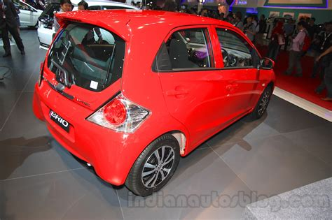 Sparepart Honda Brio 2015 2015 facelifted honda brio rear quarter at the 2015