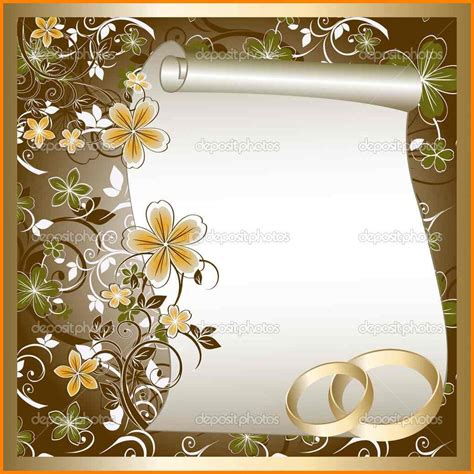 gwen designs card template 4 blank wedding invitation card template global