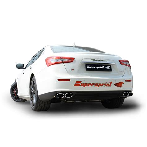 maserati performance parts performance exhaust systems performance racing exhaust