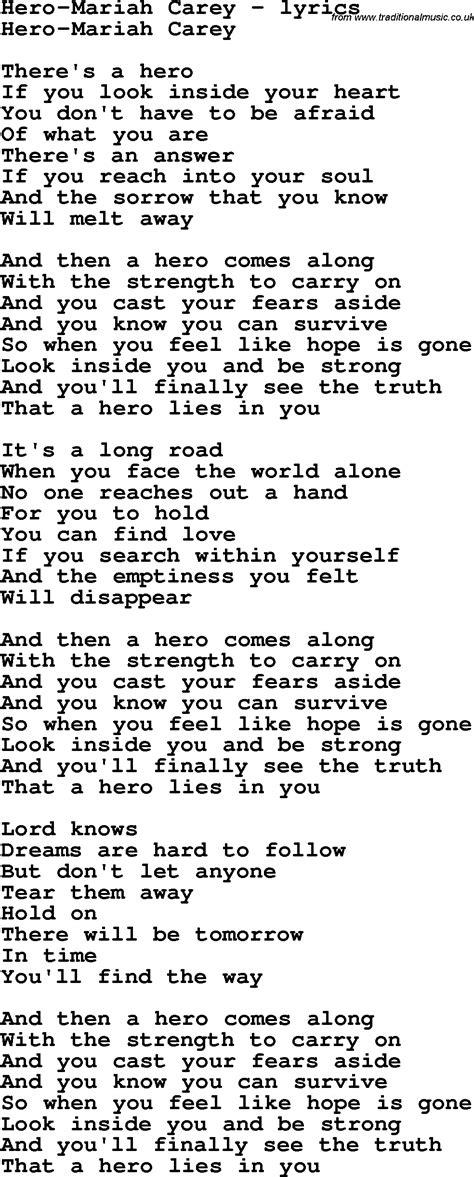 lyrics carey song lyrics for carey